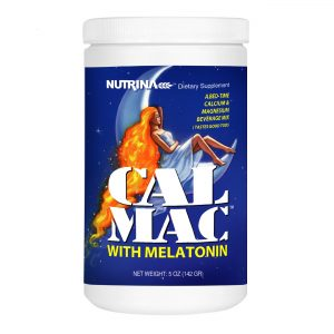 calmac sleep with melatonin bottle main image