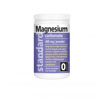 standard vitamins magnesium carbonate powder bottle main