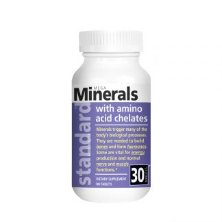 mega minerals 100 tablets bottle main image