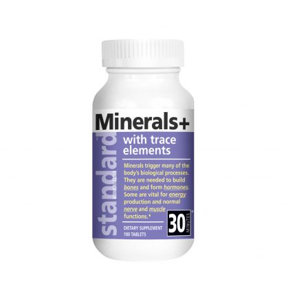 Minerals Plus Trace Elements bottle main image
