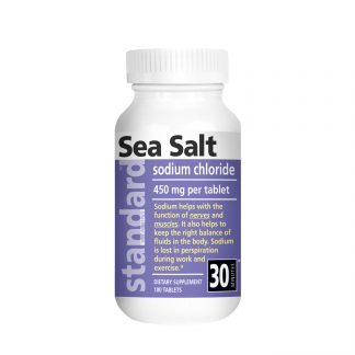 sea salt 100 tablets bottle main image