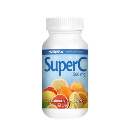 super c 100 capsules bottle main image