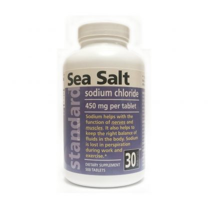 sea salt 500 tablets bottle main image